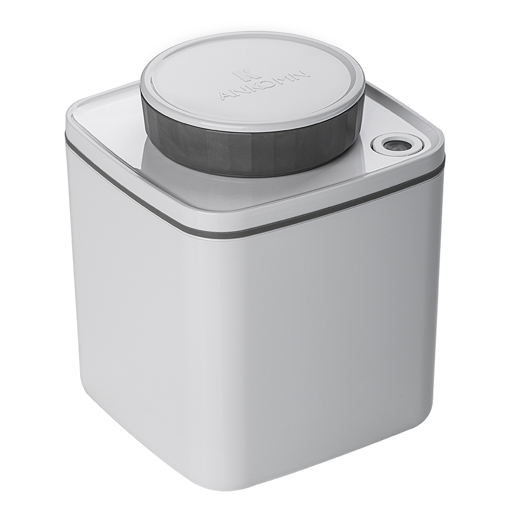 ANKOMN|Turn-N-Seal 真空保鮮盒 600ml 白色(1入)