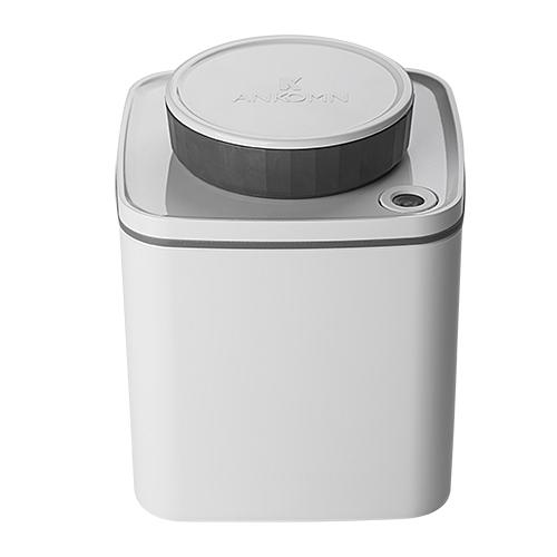 ANKOMN Turn-N-Seal 真空保鮮盒 600ml 白色(1入)