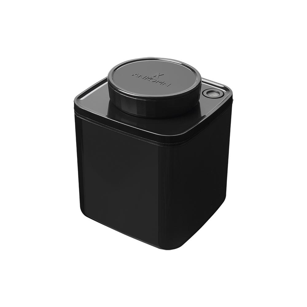 ANKOMN|Turn-N-Seal 真空保鮮盒 600ml 黑色(1入)