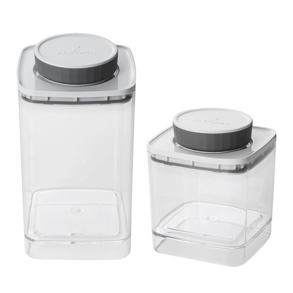 ANKOMN|EVERLOCK 氣密保鮮罐 1200+600ml(2入組)