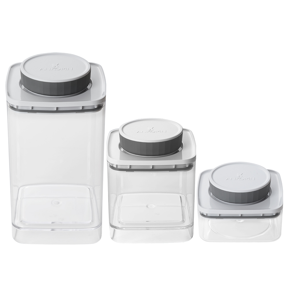 ANKOMN|EVERLOCK 氣密保鮮罐 1200+600+300ml(3入組)
