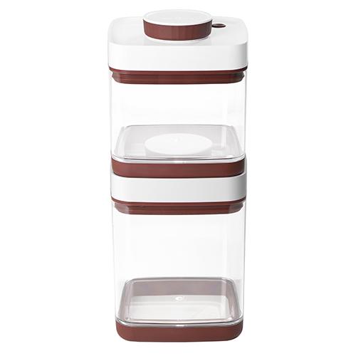 ANKOMN|SAVIOR 真空保鮮盒2.5+1.5公升(2入組)(顏色隨機出貨)
