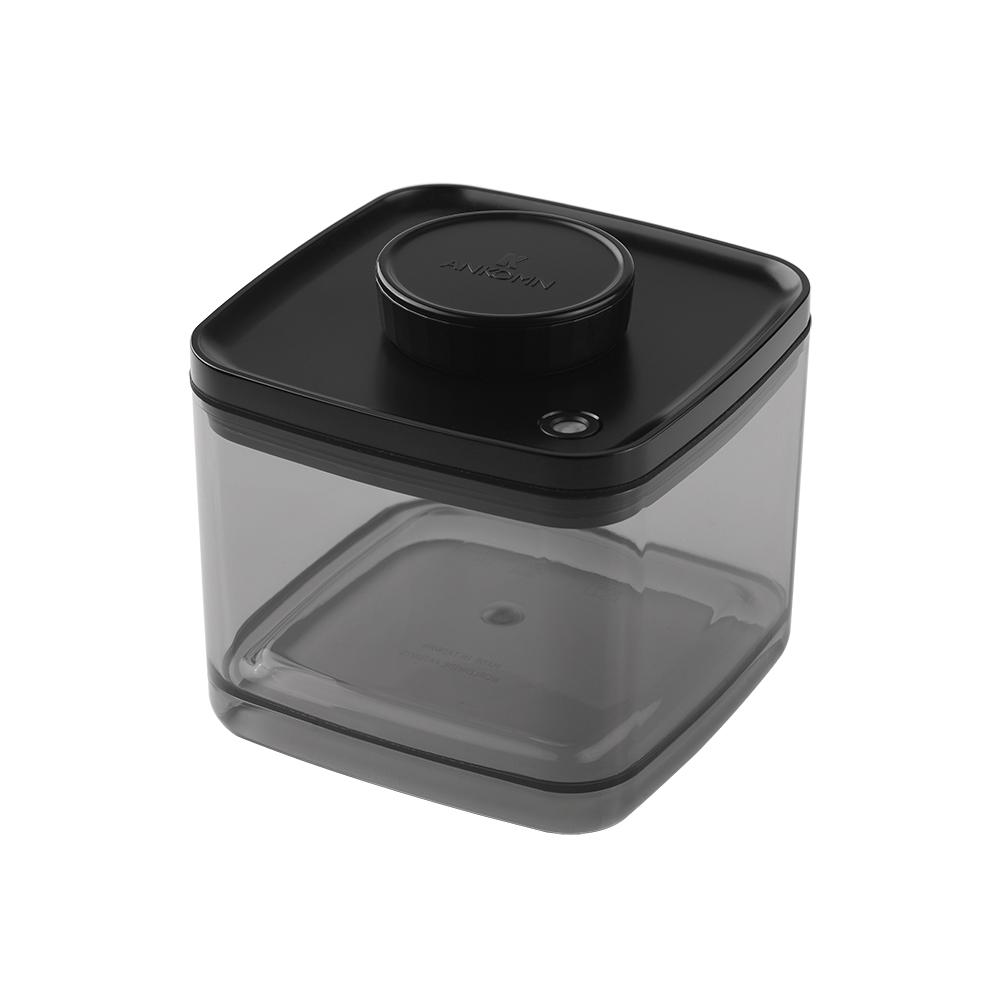 ANKOMN|Turn-N-Seal真空保鮮盒 1.5公升 半透明黑 (1入)