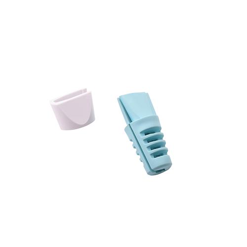 ANKOMN|蘋果原廠線專用保護套4入組(藍色.灰色)