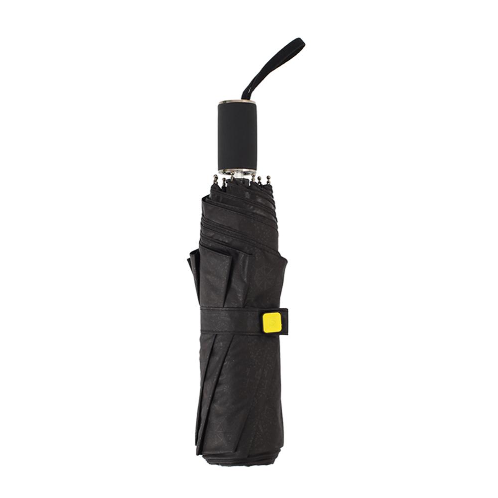 德國kobold|抗UV零透光智能防曬-青花瓷系列-雙層遮陽防曬降溫傘-三折傘-卷草