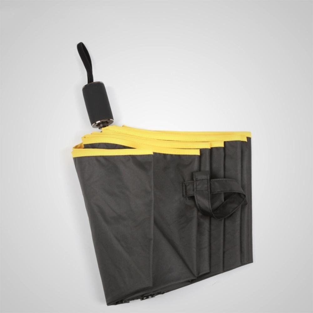 德國kobold|抗UV旋轉芭蕾系列-超輕巧-隱藏傘珠-遮陽防曬三折傘-曜石黑