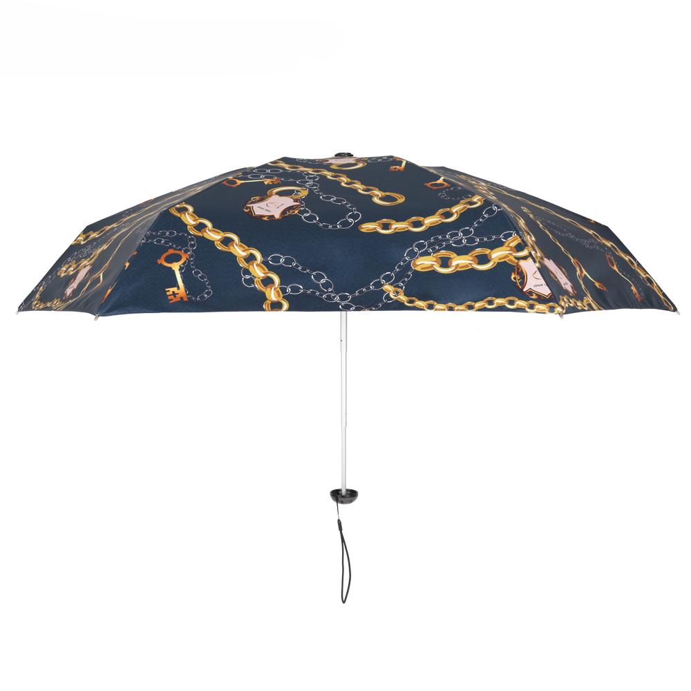 德國kobold|抗UV蘑菇頭系列-6K超輕巧遮陽防曬 五折傘-艾瑪灰