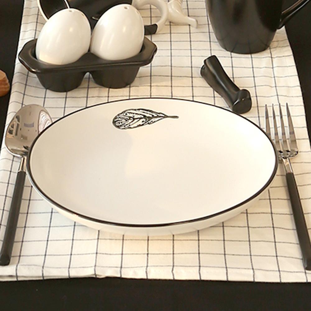 JOYYE陶瓷餐具|小鳥依偎8寸圓盤(一套2件)