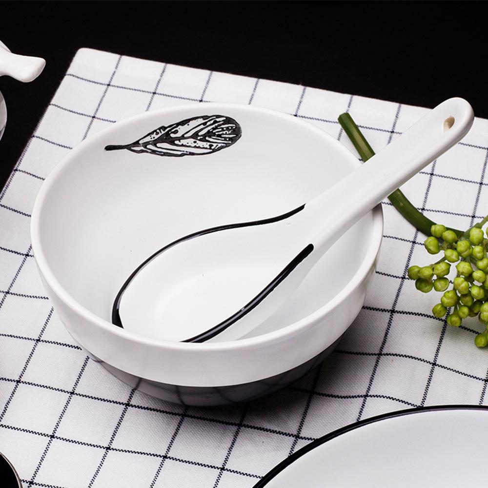 JOYYE陶瓷餐具|小鳥依偎圓碗(一套2件)