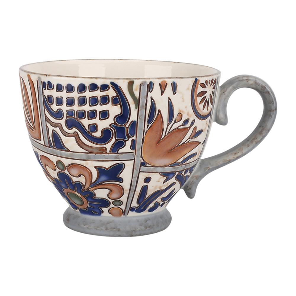 JOYYE陶瓷餐具|花如玉手繪C把杯-G