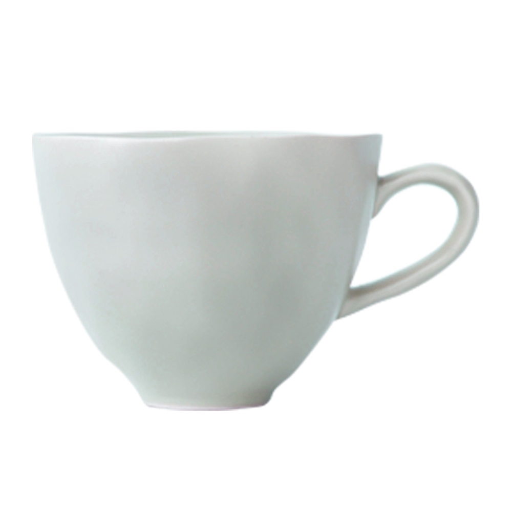 JOYYE陶瓷餐具|自然初語手捏杯-綠色