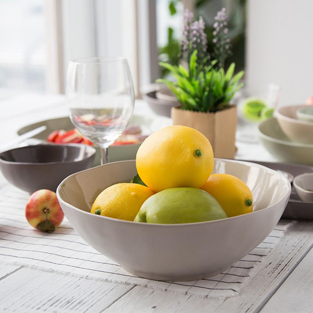 JOYYE陶瓷餐具|自然初語手捏碗-大(浮雕joyye底標)