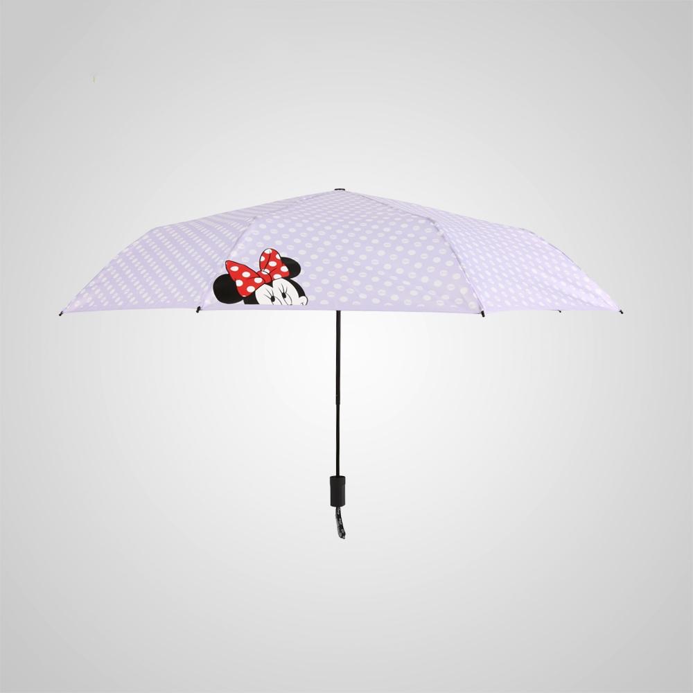 德國kobold|迪士尼官方授權-晴雨兩用傘-波點米妮-紫