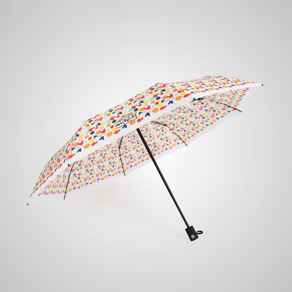德國kobold|迪士尼官方授權-晴雨兩用傘-米奇糖果屋-白