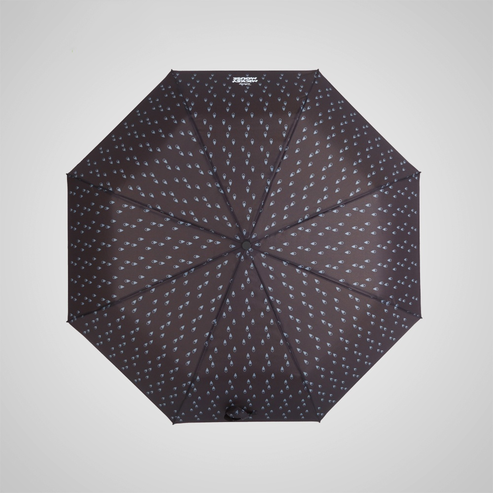 德國kobold|迪士尼官方授權-晴雨兩用傘-水滴米奇-咖啡