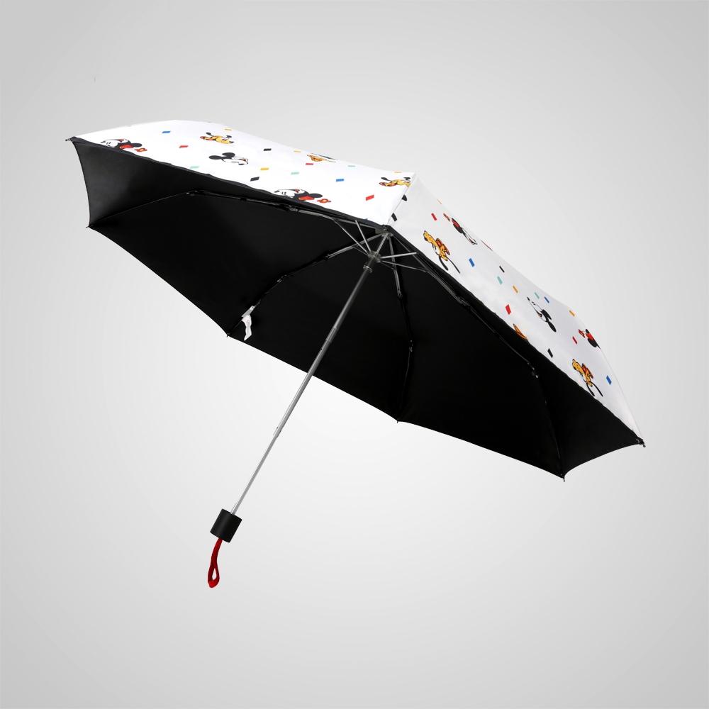 德國kobold|迪士尼官方授權-7K晴雨兩用傘-米奇家族-白