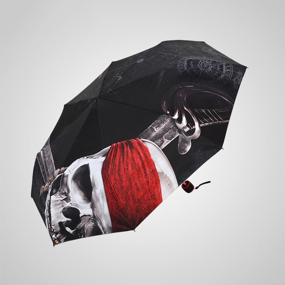 德國kobold|迪士尼官方授權-8K晴雨兩用傘-神鬼奇航系列-骷髏頭