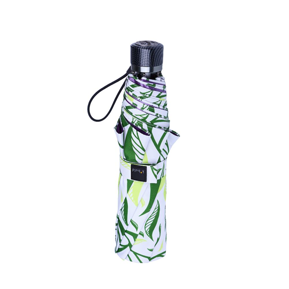 德國kobold|抗UV-Lotus叢林-防潑水紫膠遮陽傘-三折傘-綠