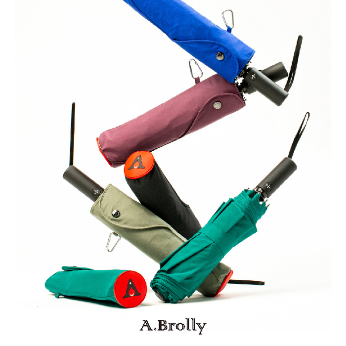 A.Brolly亞伯尼|Portobello防撞自動傘(五色任選)