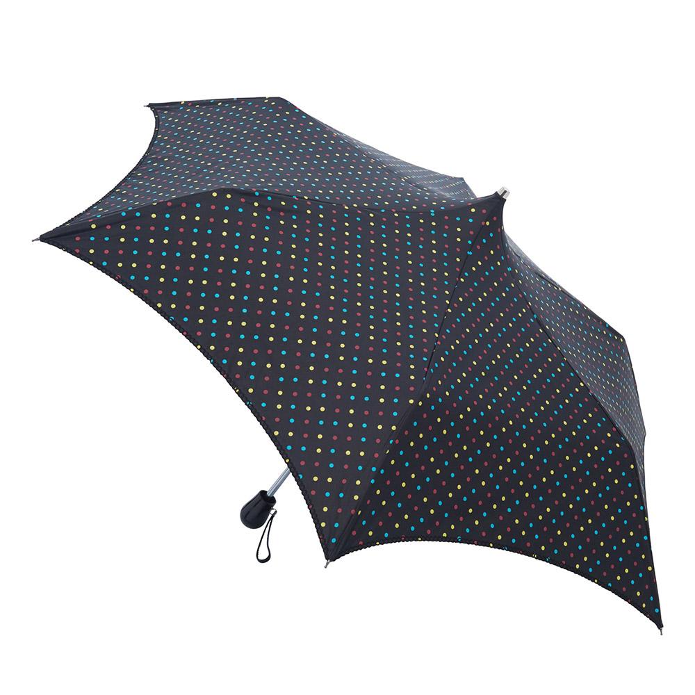 A. Brolly亞伯尼|邱園系列淑女晴雨折傘 繽紛圓點