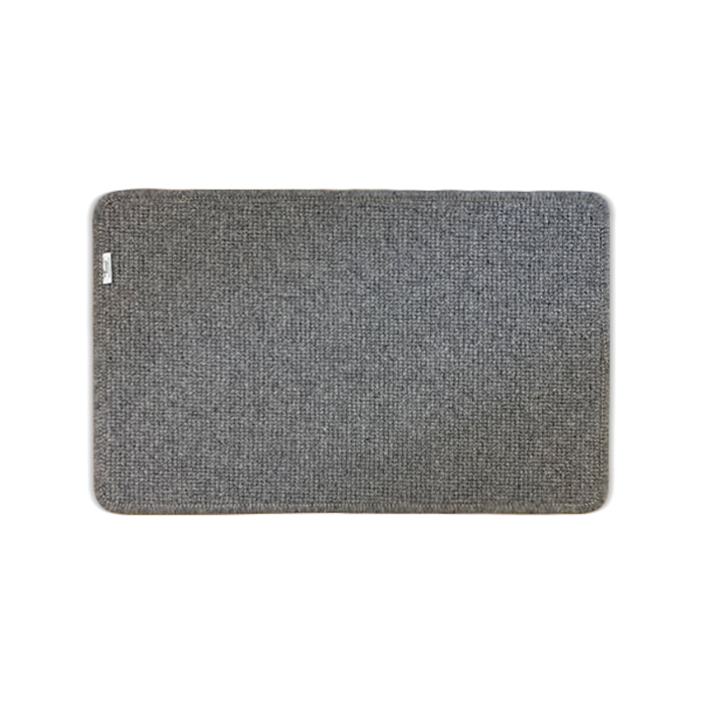 Ecodailylife|北歐風簡約羊毛地墊-深灰