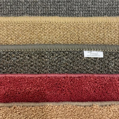 Ecodailylife|北歐風簡約羊毛地墊-鐵灰