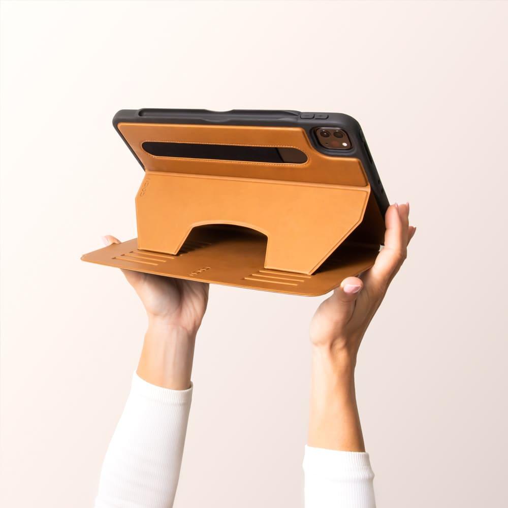 """ZUGU iPad case 超薄防震保護殼11""""2021 - 質感棕"""