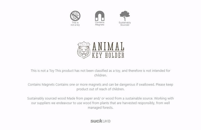 英國 Suck UK|獵人鑰匙圈- 公牛