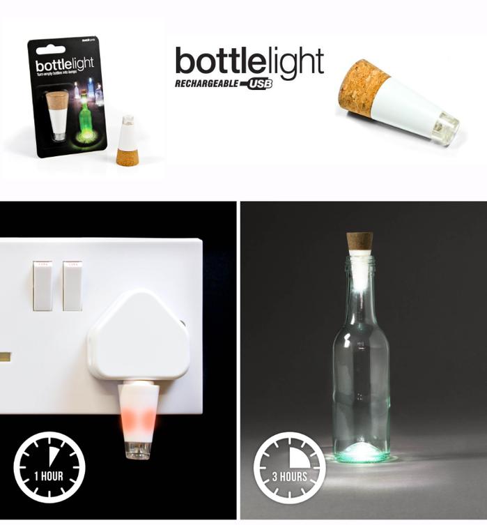 英國 Suck UK|照亮酒瓶LED燈
