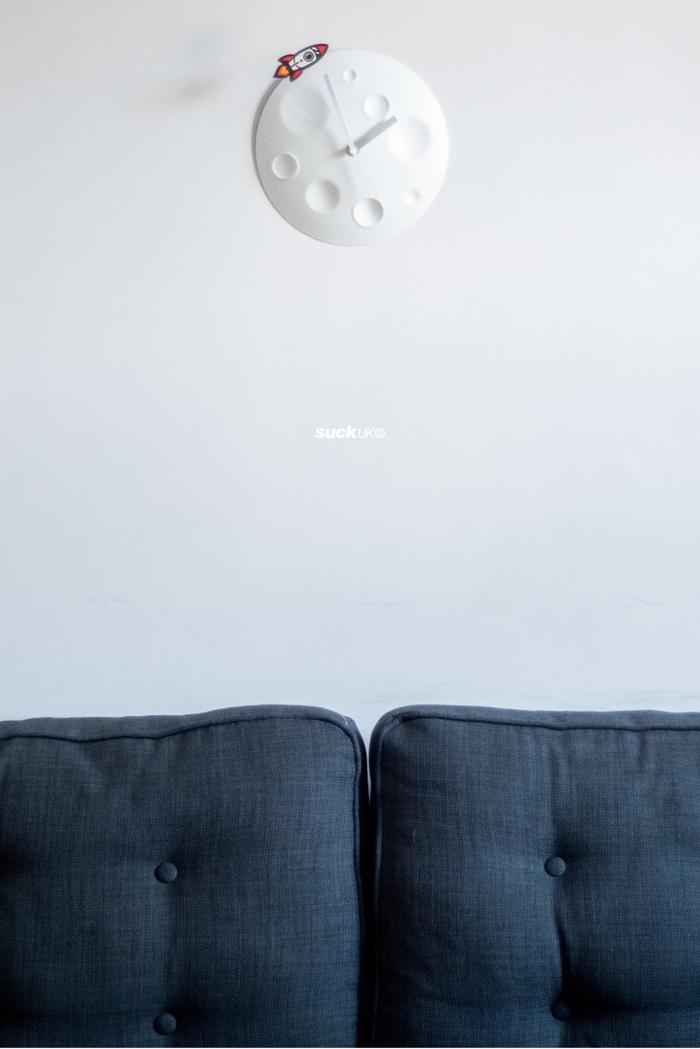 英國 SUCK UK|Rocket Moon Clock