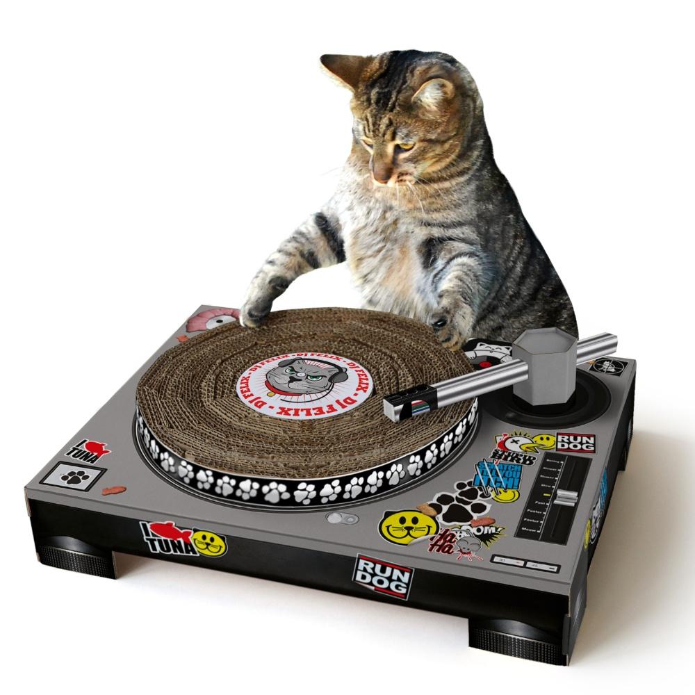 英國 Suck UK|貓DJ貓抓板