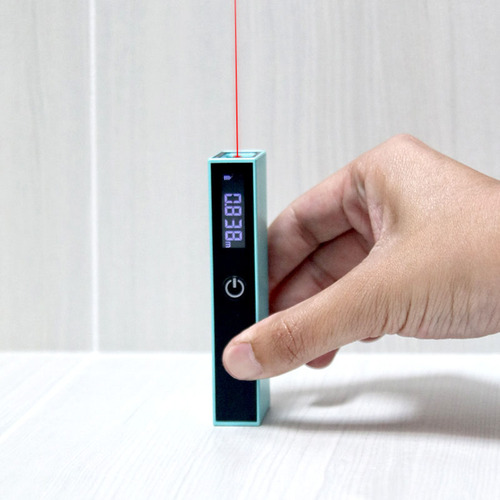 工具豆 測量雷射尺(青)