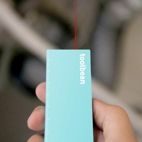 工具豆|測量雷射尺(青)