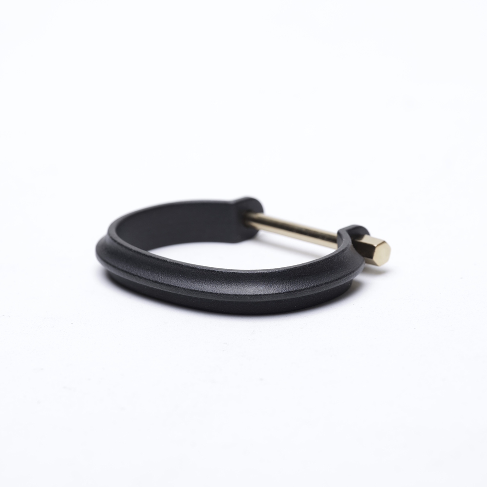 DRILLING LAB|CLAMP BRACELET TYPE A(黑金色)