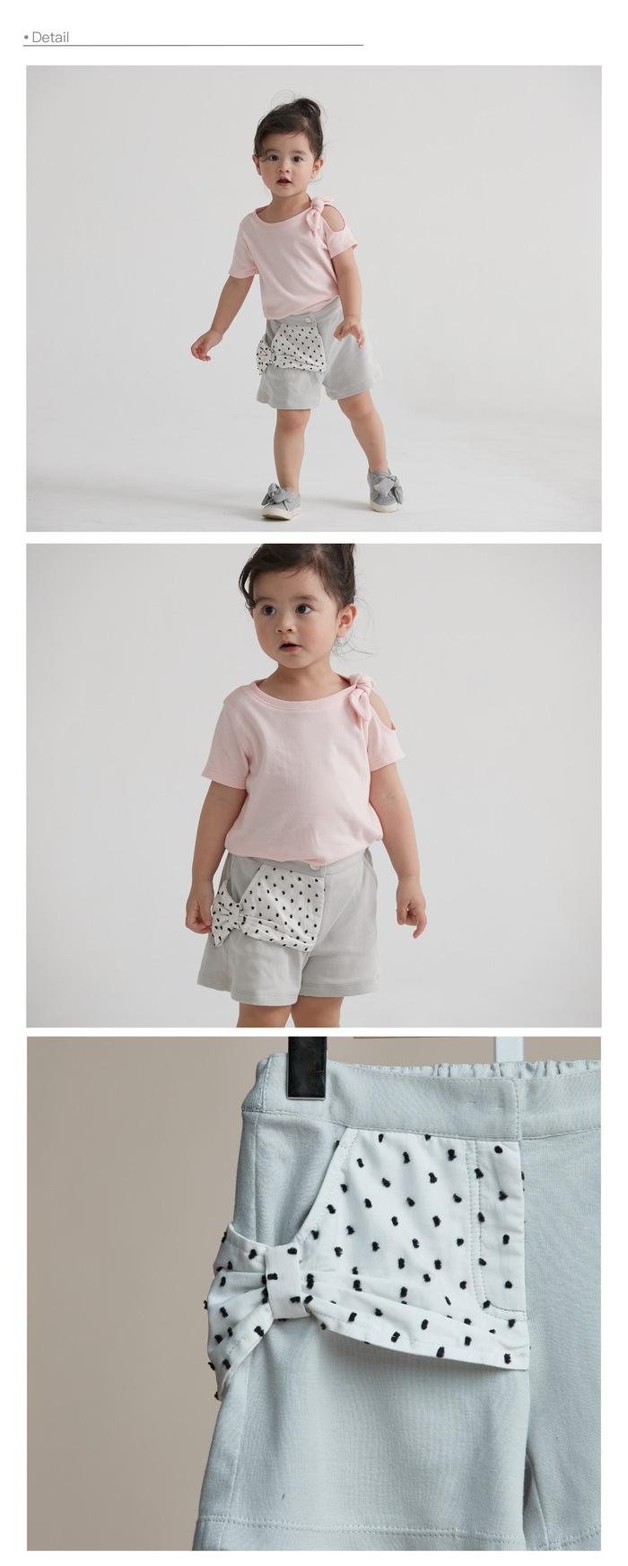 baby baby cool|The gift - 法式蝴蝶結短褲