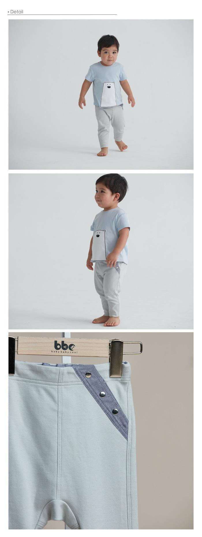 baby baby cool|斜邊條紋長褲