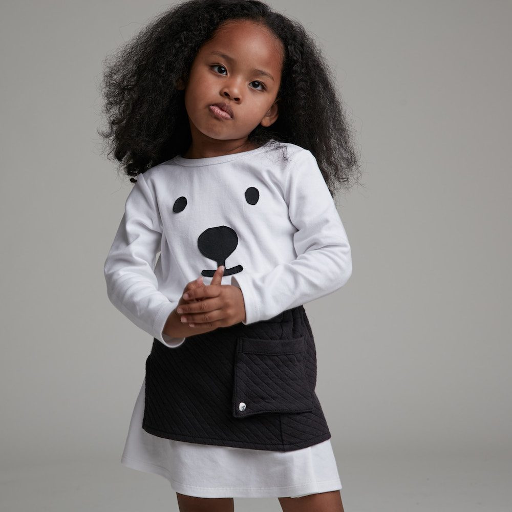 baby baby cool|北極熊臉長袖上衣