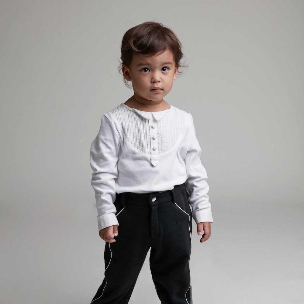 baby baby cool 正裝西裝褲(黑)