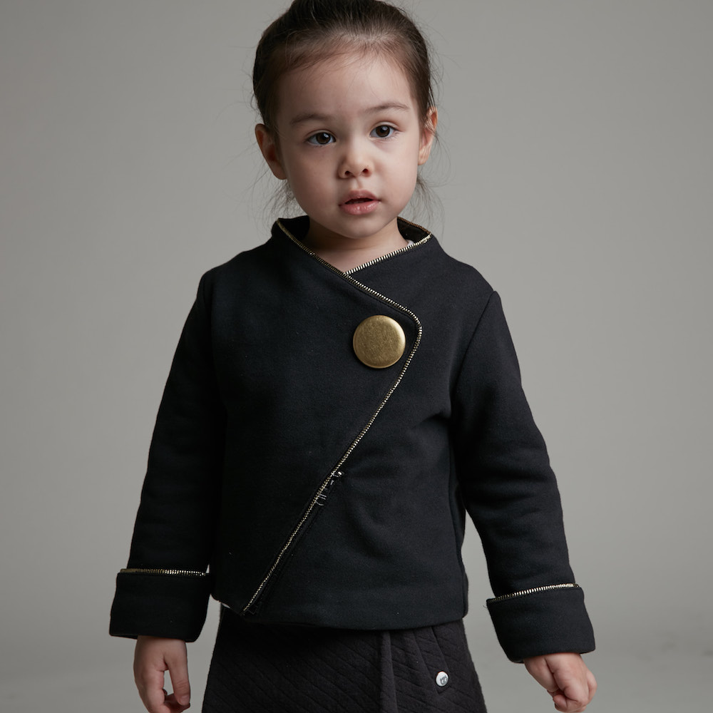 baby baby cool|時尚大金釦外套