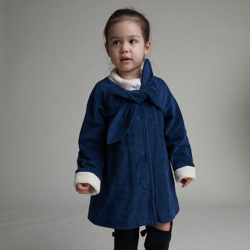 baby baby cool|立體蝴蝶結大衣
