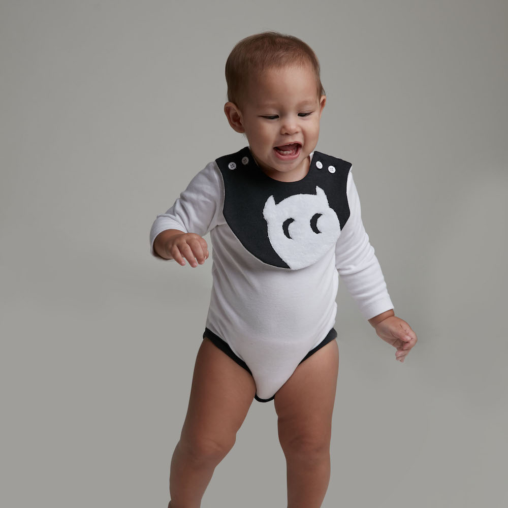 baby baby cool|小精靈口水巾長袖包屁衣