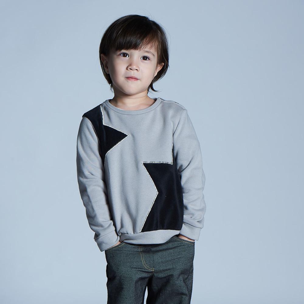 baby baby cool|I'm star拼色毛衣