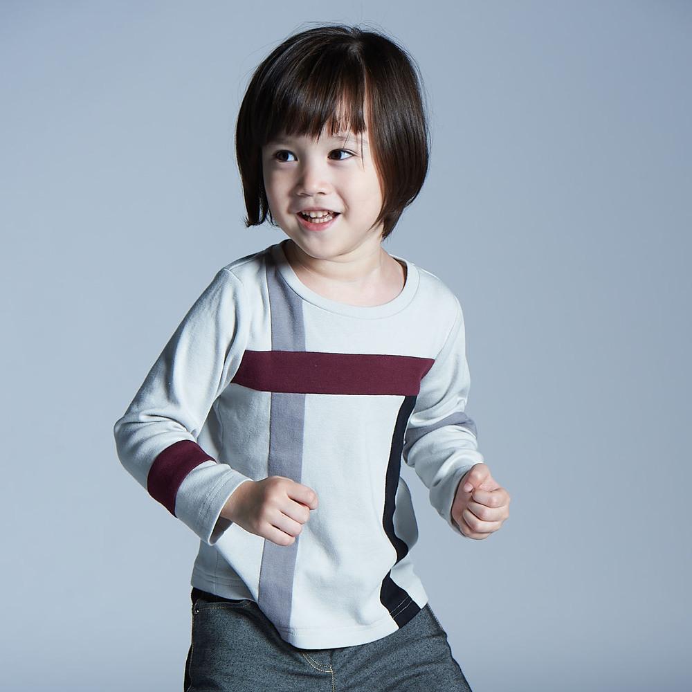 baby baby cool 貪吃蛇上衣(灰)