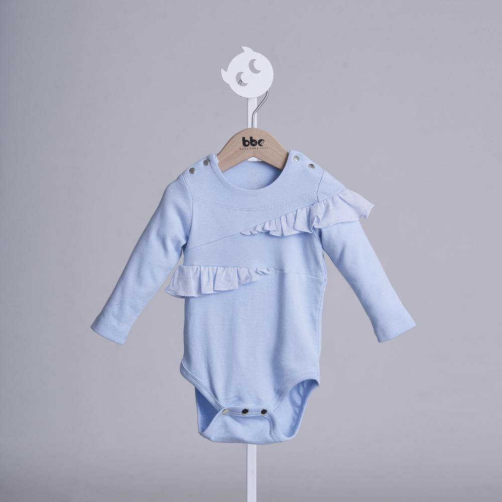 baby baby cool|蝴蝶飛舞包屁衣(藍)