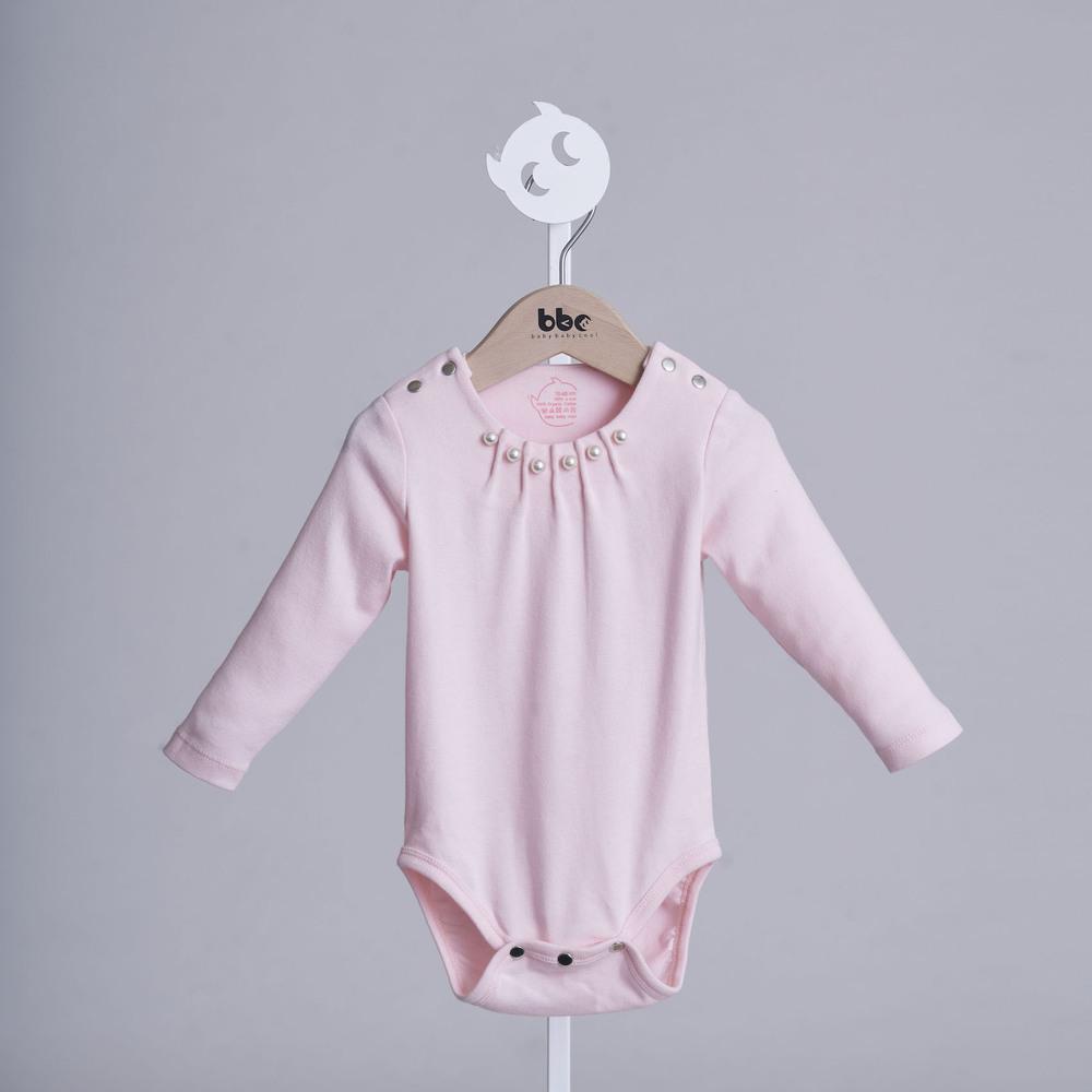baby baby cool 赫本系列 - 女孩別哭包屁衣(粉)
