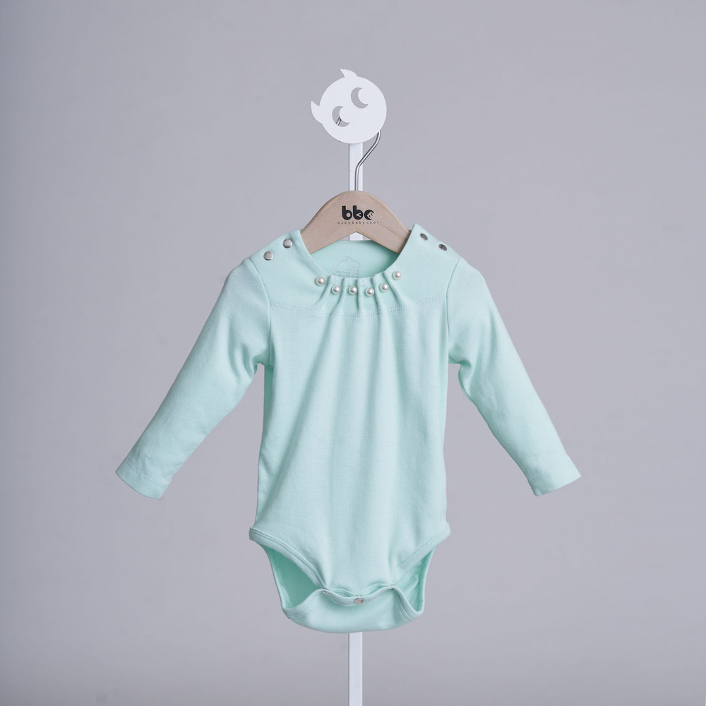 baby baby cool|赫本系列 - 女孩別哭包屁衣(綠)