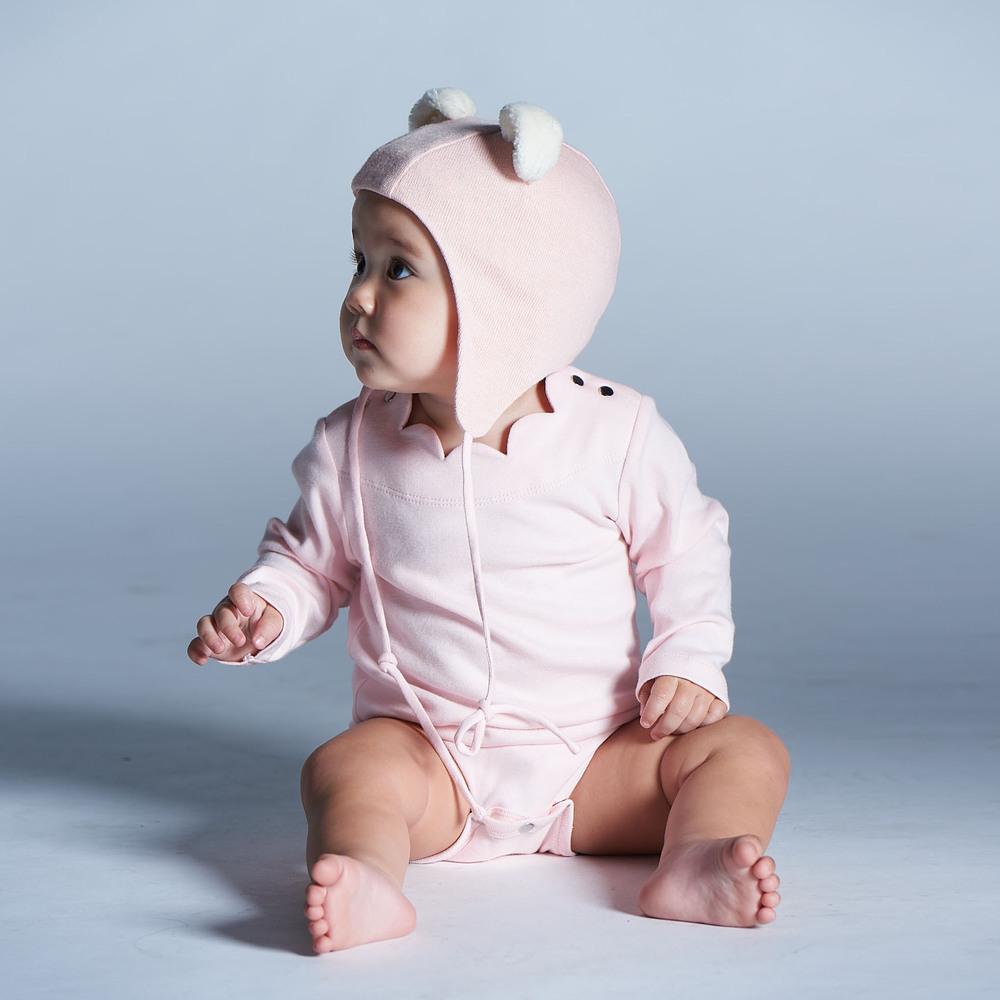 baby baby cool 杜樂麗花園包屁衣(粉)