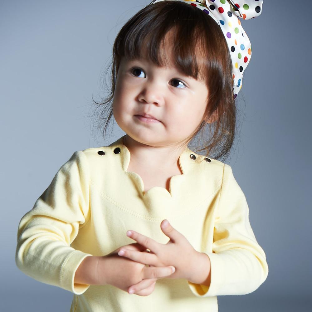 baby baby cool|杜樂麗花園包屁衣(黃)