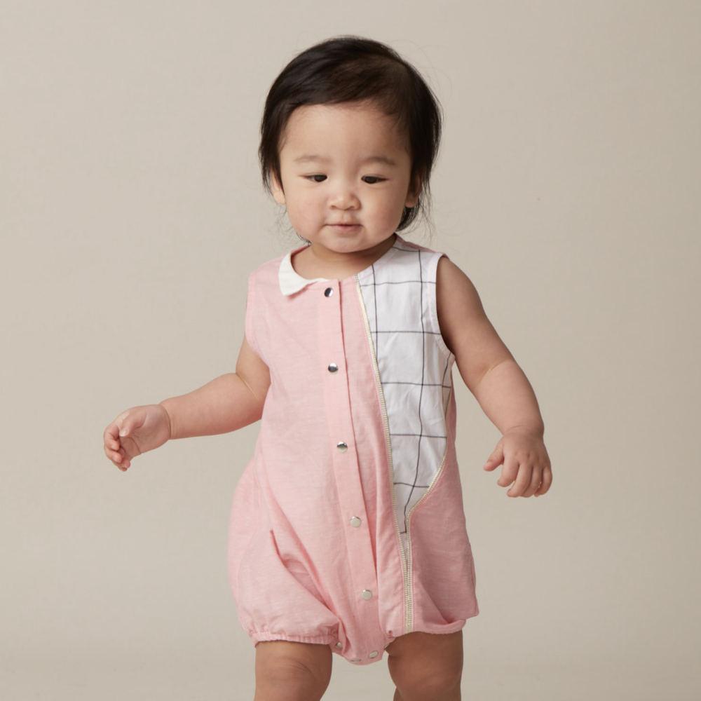 baby baby cool|拉鍊系列-搖滾泡泡裝