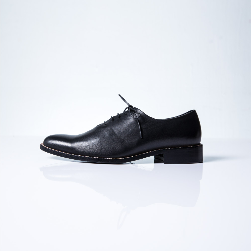 NOUR classic MAN 男士經典款 oxford 全素面牛津鞋-Black 黑色